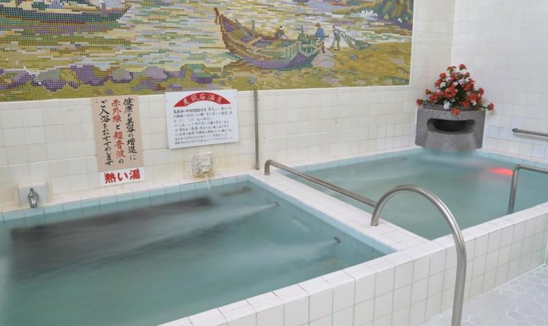 """""""好みの温度の湯船を楽しめます。"""""""