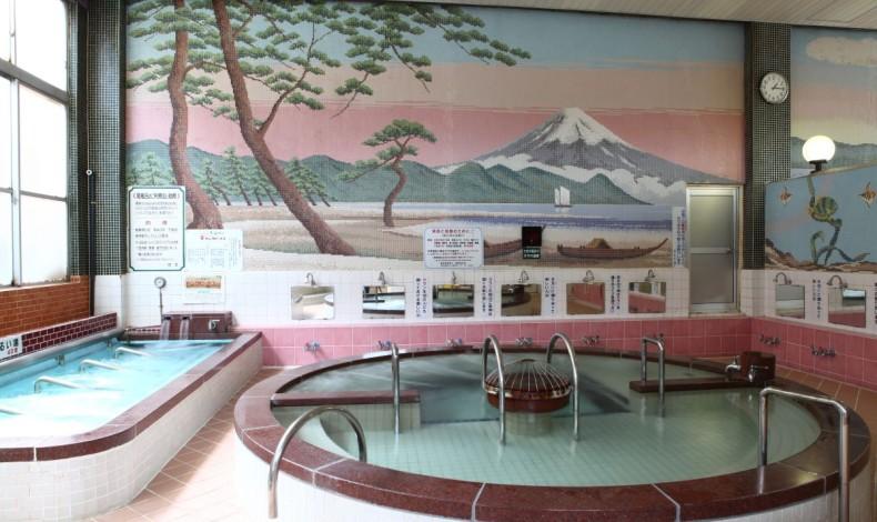 """""""定番の富士山。"""""""